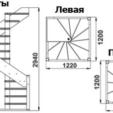 Винтовая, модель ЛС-1.2хм